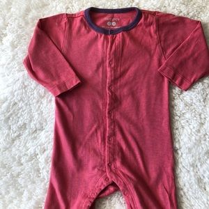 BabySoy organic cotton onesie pajamas